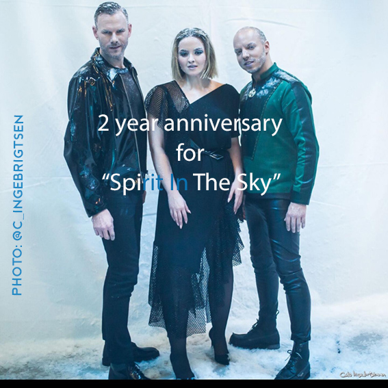 "2 yaers anniversary for KEiiNO's ""Spirit in the sky"". Photo; Cato Ingebrigtsen"