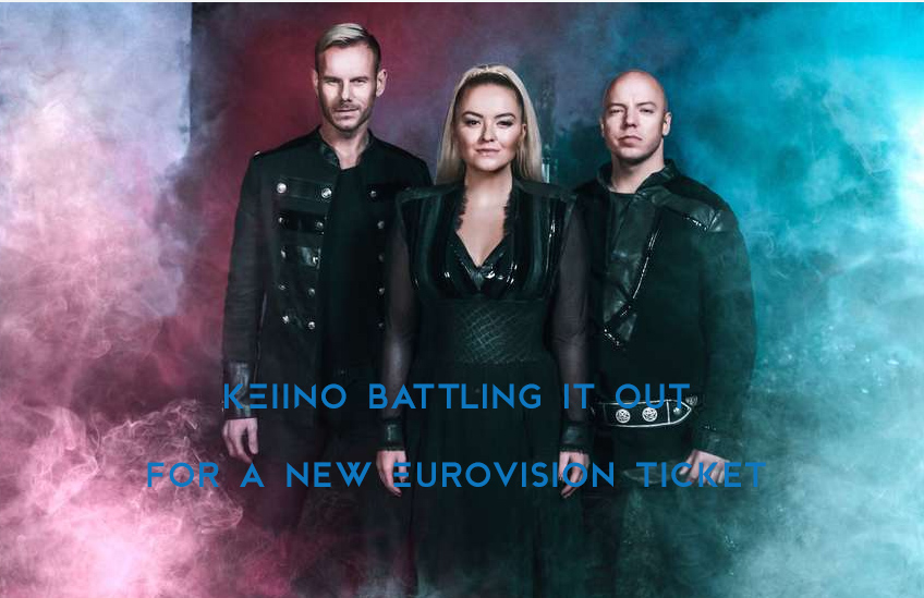 KEiiNO battling it out for a new Eurovision ticket