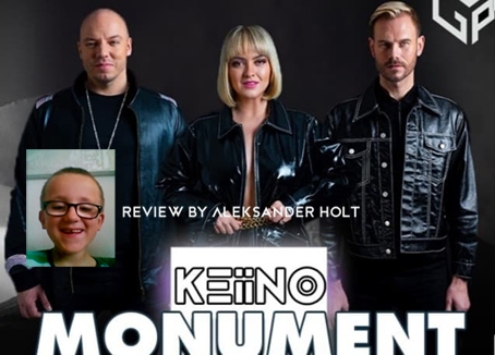"Review of KEiiNO's single, ""Monument"", by Aleksander Holt."
