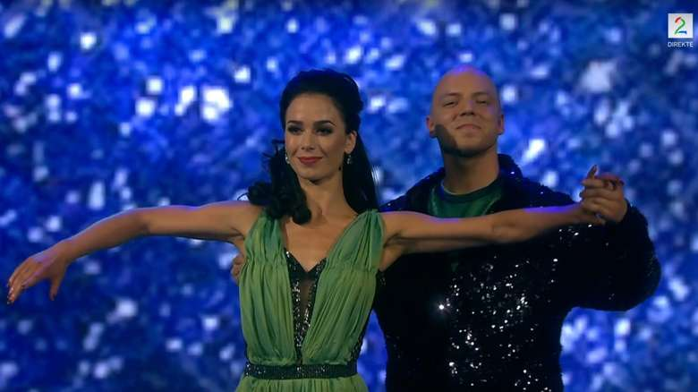 Fred Buljo tackled the Viennese waltz, but didn't receive a top score from the judges.